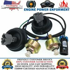 Dual Knock Sensors and Wire Harness for Chevy Gm Ls1 Ls6 Lq9 4.8L 5.3L 6.0L 8.1L (Fits: Pontiac)