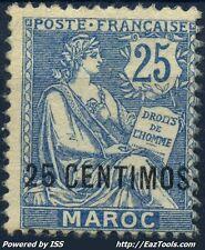 MAROC TYPE MOUCHON N° 14 NEUF * AVEC CHARNIERE