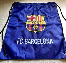 FC Barcelona Drawstring Pouch Backpack Soccer Futbol