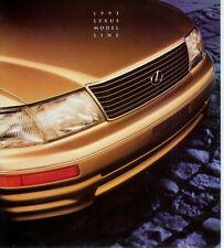 1995 LEXUS  FULL LINE  BROCHURE