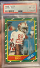 1986 Topps Football #161 Jerry Rice ROOKIE PSA 6 EX-MT HOF 49ers Great