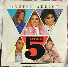 5STAR,SYSTEM ADDICT,VINTAGE LP 45,RECORD IN GREAT CONDITION.
