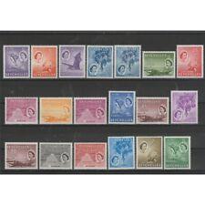 SEYCHELLES 1954-57  DEFINITIVA SOGGETTI VARI  YV167/181  - 19 VAL MNH MF73302
