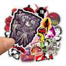 50 Film Stickerbomb Horror Retrostickern Aufkleber Sticker Mix Decals rote Anime