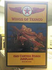 Wings Of Texaco 1929 Curtis Robin Die-Cast Plane NIB 6th In The Series