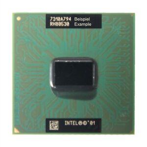Intel Celeron Mobile Notebook CPU SL6HA 1.33GHz/256KB/133MHz Socle/Prise 478A