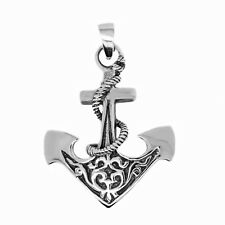 925 solid Sterling Silver Anchor Large New Design pendant