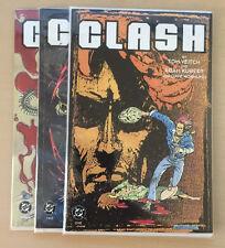 Clash #1-3 (DC Comics, 1991) Complete Mini Series!  Must See!