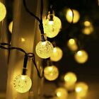 3M 20LED Crystal Ball Fairy String Light Christmas Outdoor Garden Garland Decor/