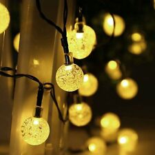3M 20 LED Crystal Ball Fairy String Light Christmas Outdoor Garden Garland Decor