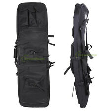 "Tactical 39"" Padded For Fishing Rod Gun Carbine Rifle Weapons Case Bag Black"