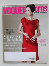 Rarität:  VOGUE patterns sewing magazine, Dec 2010 / Jan 2011