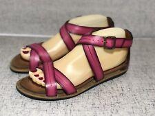 510d16757b263 Clarks Strappy Sandals Billie Jazz Fuschia Pink Gladiator Sandals Size 6.5