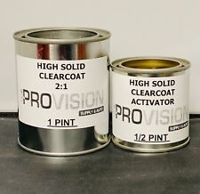 2:1 HS CLEARCOAT PINT, QUART, GALLON Ready to Spray Choose Your Size HIGH SOLIDS
