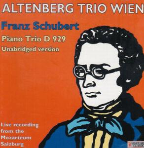 SCHUBERT  trio op 100 (unabridged version)  Notturno   Altenberg Trio Wien  LIVE