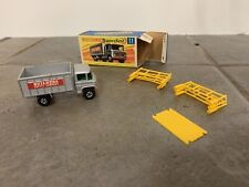 Matchbox Lesney Vintage #11 Scaffolding Truck 1969 with box + Scaffolding