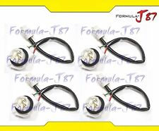 Wire Harness Miniature 3156 S T25 Four Cables Light Bulb Pigtail Male Female Fit