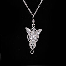 Unisex Fashion Jewerly Lord Of The Rings pendant Arwen's Evenstar Necklace