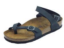 017e82582d863 Birkenstock Yara Sandali con Cinturino alla Caviglia Donna Nero Noir 36 EU