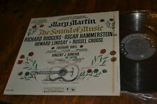 SEALED THE SOUND OF MUSIC MARY MARTIN LP BROADWAY CAST 1959 6-EYE COLUMBIA MONO