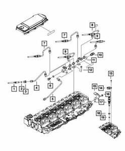 Genuine Mopar Fuel Injector 68086182AA
