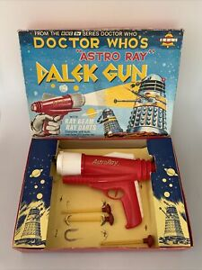 1965 Bell Toy Boxed Doctor Who Astro Ray Dalek Gun