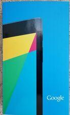 Google Nexus 7 (2nd Gen) K008 16gb asus-2b16 Tablet Negro 90nk0081-m00020
