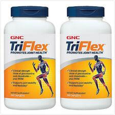 2PCS GNC TRIFLEX 240 Caps Glucosamine Hydrochloride MSM Chondroitin Sulfate