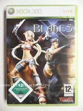 jeu X BLADES sur xbox 360 en francais game spiel juego gioco action complet TBE