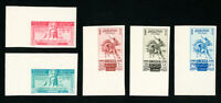 Lebanon Stamps # C141-5 Superb OG NH Imperforates