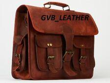 Laptop Messenger Satchel I pad Mobile Shoulder Retro Vintage Briefcase handbag