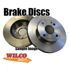 Renault 5 18 FRONT 228mm BRAKE DISC (Single) BDC1026 Check Compatibility