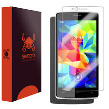 Skinomi Brushed Steel Skin & Screen Protector for Archos 50d Helium 4G