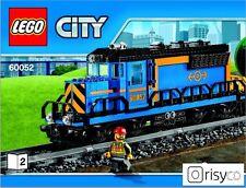 LEGO ® City Treno Locomotiva Treno Merci (60052) nuovo su 9v convertibile # 60098 senza Power FKT.