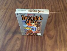 Castlevania III 3: Dracula's Curse (Nintendo, NES) Brand New -- Has Wear --