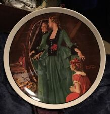 Norman Rockwell Mother's Day 1984 Collectors Plate