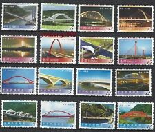 China Taiwan 2007 2008 2010 Bridge Series No 1 ~ 3 stamps Full
