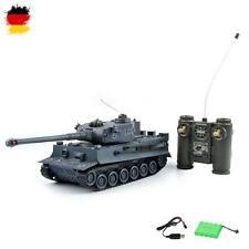 RC ferngesteuerter German Tiger, 1:28 Modell, Militär-Panzer, Fahrzeug mit Akku
