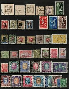 Lithuania 1919- collection of 42. Used.Very Fine.