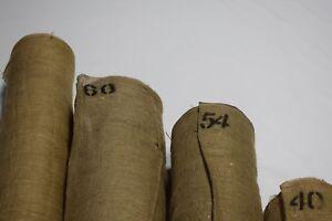 "Premium Burlap Natural Jute Fabric 8 - 10 OZ. Vintage Upholstery 40"" - 72"" Wide"