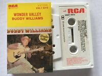 BUDDY WILLIAMS...WONDER VALLEY - - Rare Oz County Cassette...HANK WILLIAMS