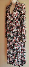 Perri Cutten long-sleeved wrap dress Size L