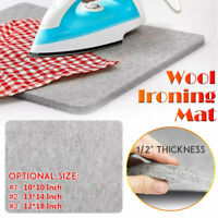 High Temperature Ironing Board Felt Press Mat Wool Pressing Mat Ironing Pad