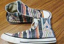9f11e1c5ddad UNIQUE   USA VINTAGE CONVERSE All Star Canvas Aztec Design Sneaker Mens Sz  10
