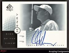 2001 SP Authentic Sign of the Times #JJ J.J. Henry Autograph AUTO