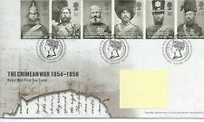 GB - FIRST DAY COVER - FDC - COMMEMS -2004- CRIMEAN WAR - Pmk TH