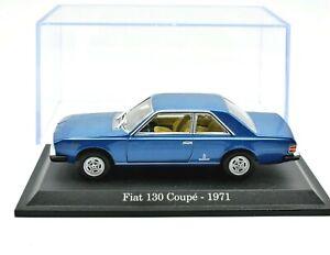 FIAT 130 COUPE SCALA 1/43 AUTO MODELLINI DIECAST NOREV COLLEZIONE MODELLISMO