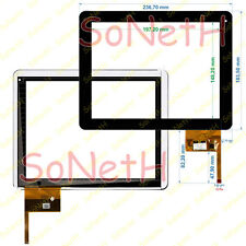"Vetro Touch screen Digitizer 9,7"" Mediacom SmartPad 932i M-MP932i Nero"