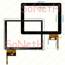 "Vetro Touch screen Digitizer 9,7"" Mediacom SmartPad 932i M-MP932i Nero"