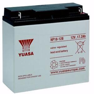 CSB GP 12170 (GP12170) YUASA Replacement Lead Acid UPS Battery 12V 18Ah
